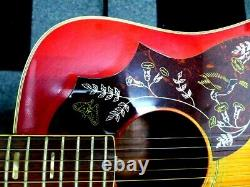Aria Ahb Hummingbird Typevintage Guitare Acoustique Des Années 1970 Made In Japan
