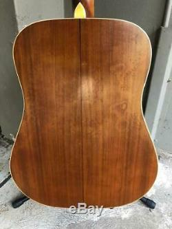 Aria Lw12 6 Cordes Dreadnought Guitare Acoustique Made In Japan Mij 1980