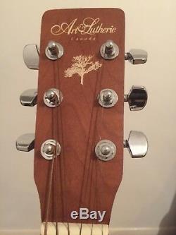 Art & Lutherie Dreadnought Guitare Acoustique Antique Burst Cedar (made In Canada)