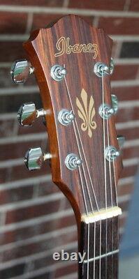 Beauty Rare Ibanez Model N600 Acoustic/electric Cut-away Guitar Made In Korea