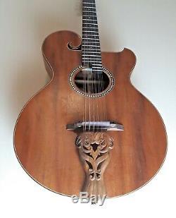Blueberry Nouveau En Stock Douze Cordes Guitare Acoustique O-type De Boîtier Et Garantie