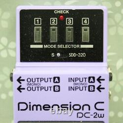 Boss Dc-2w Dimension C Waza Craft Made In Japan Chorus Effect Pedal (z8j3919)