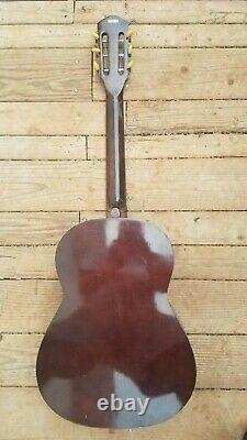 Checkmate G135 Guitare Classique Acoustique Vintage Fabriqué Au Japon Clean