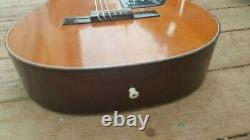 Checkmate G135 Vintage Acoustic Classical Guitar Made In Japan Clean