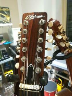Chitarra Acustica Ariana 12 Modèle 9024 Fait En Corde Japon