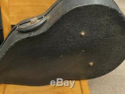 Crest Archtop 30s Guitare Probablement Faites Par Harmony. Cas Withhard