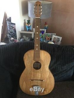 De Superbes Hand Made Elbozzini Italienne Guitare Acoustique Beatles Période