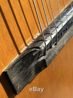 Début Des Années 70 Et Sears Roebuck Espace Dot Parlor Guitare Acoustique Made Aux Etats-unis
