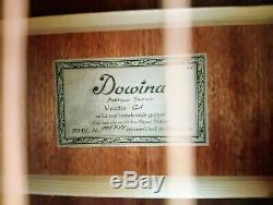 Dowina Vectis Cèdre Fabrication Artisanale Guitare Acoustique