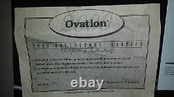 Édition Des Collecteurs D'ovation 2000 USA Made LIM Ed