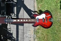 Egmond Guitare Électrique Vintage Fait Dans Les Années 1960 Pays-bas