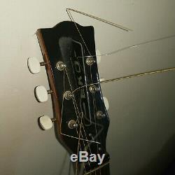 Eko Ranger 60 / 70s Vintage Guitare Acoustique Dreadnought. Fabriqué En Italie