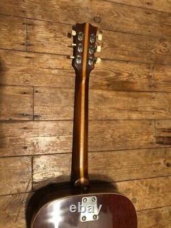 Eko Ranger 6 Guitare Acoustique, Fabriquée En Italie, Fantastique État, 1970