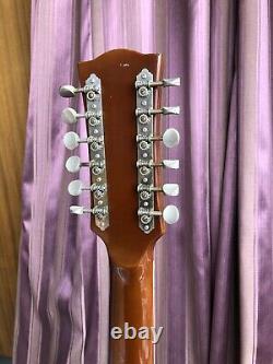 Eko Ranger XII 1970s Italienne 12 Cordes Guitare Acoustique