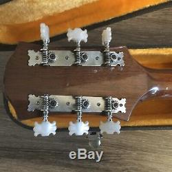Epiphone Flat Top Ft -147 Guitare Acoustique Made In Japan 1972 & Original Hard Case