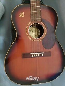 Espana Guitare Acoustique Classique Avec Étui, Rh, Made In Findland