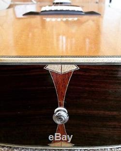 Étui Rigide Pour Guitare Acoustique Fait Main Luthier Made J-50 J-45