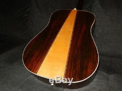 Fabriqué Au Japon 1975 Morris W45 Absolument Merveilleux Guitare Acoustique Style D45