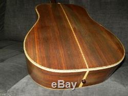 Fabriqué Au Japon 1975 Yamaki Yw60 Simplement Terrific D45 Style Guitare Acoustique