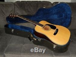 Fabriqué Au Japon 1978 Morris W50 Guitare Acoustique Absolument Terrific Style D45