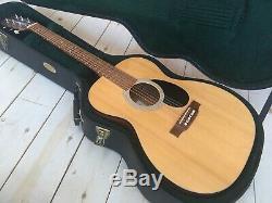 Fabriqué Aux États-unis. Martin En Bois Massif, Guitare Acoustique Om-1