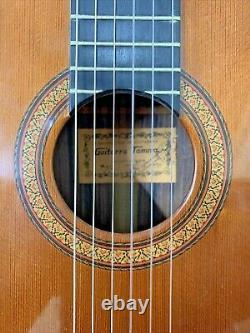 Fabriqué En 1970 Rare Hiroshi Tamura P40 Guitare Acoustique