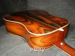 Fabriqué En 1977 Par Kasuga Gakki K. Pays D400 Grande D45 Style Guitare Acoustique