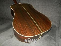 Fabriqué En 1982, Cat's Eyes Ce800 Est Une Excellente Guitare Acoustique De Style Martin D28