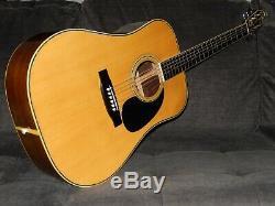 Fabriqué Par Tokai Gakki Eyes De Chat Ce450d 1982 Guitare Acoustique Style Martin D35