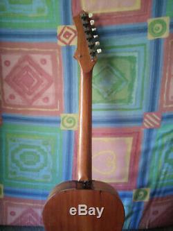 Fait À La Main Guitare Voyage En Acajou