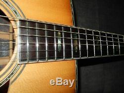 Fait En 1974 Par Terada Gakki Jagard Jd400 Terrific D45 Style Guitare Acoustique