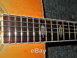 Fait En 1975, Yamaki Yw40 Absolument Magnifique D45 Style Guitare Acoustique