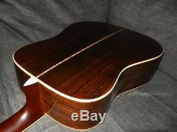 Fait En 1977, Yamaki Personnalisé 130 Terrific Martin D28 Style Guitare Acoustique