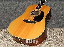Fait Par Tokai Colibri Personnalisé W400 1975 Grand D42 Style Guitare Acoustique
