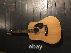 Fender F55-12 Made In Japan 1970s 12 String Acoustic