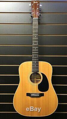 Fender F-35 1980 Acoustic Guitar Made In Japon En Fini Naturel