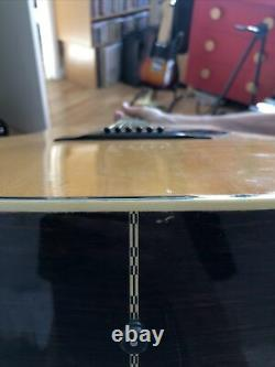 Fender F-65 Guitare Acoustique Dreadnought. Fabriqué Au Japon. C'est Mij. 1979