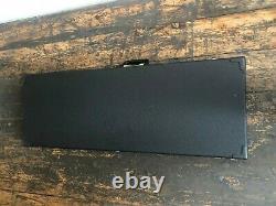 Fender Stratocaster Guitare Électrique Noire Fabriqué Au Mexique Et Hard Case 2001 2002