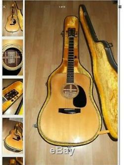 Fender Vintage Guitar Accoustic F65. (made In Japan. 1978)