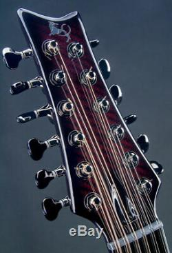Fibre De Carbone Emerald X20 Guitare 12 Cordes, Modèle 2020, Fabriqué En Irlande