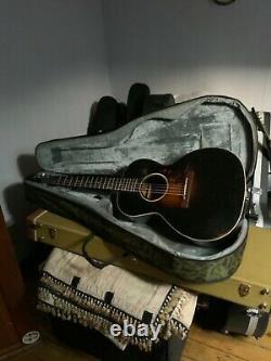 Flatop Acoustique Gibson Loo 1933 Fabriqué Aux États-unis