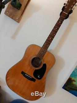 Fr100 1984 Epiphone Made In Japan Acoustic Guitar
