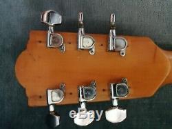 Framus 6 Texan Guitare Gitarre Chaîne Faite En Allemagne 1969
