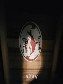 Gaucher Takamine Dolphin Ltd Guitare Acoustique- Seulement 7 Jamais Fait Pour Un Gaucher