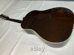 Gibson 1962 J-45 Acoustic Guitar Made In America 1998 Hard Case
