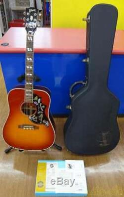 Gibson 91427034 60s Hummingbird Early Acoustic Guitar With Hard Case Made En1997