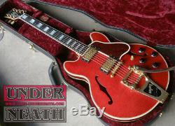 Gibson Custom Shop Cs-356 Usine Bigsby Guitare Semi-acoustique Avec Hc Fait En 2006