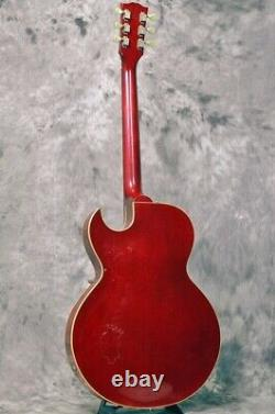 Gibson Es-135 Cherry / Guitare Électrique Semi-acoustique Avec Ohc Made In 1996 USA