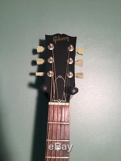 Gibson Guitare Acoustique Op25 Rare, Environ 225 Fabriqué Avec Hardshell Case