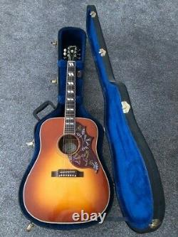 Gibson Hummingbird Honeyburst Fabriqué En Guitare Acoustique Américaine. À Peine Jamais Joué